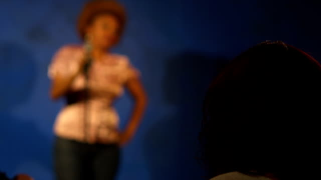 Stand up comedy performed by young woman video