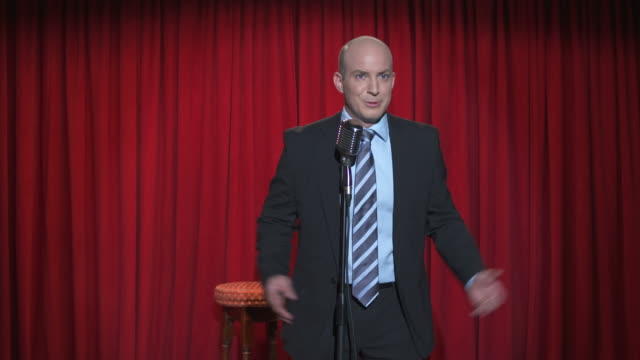 HD: Stand-Up Comedian In Action video