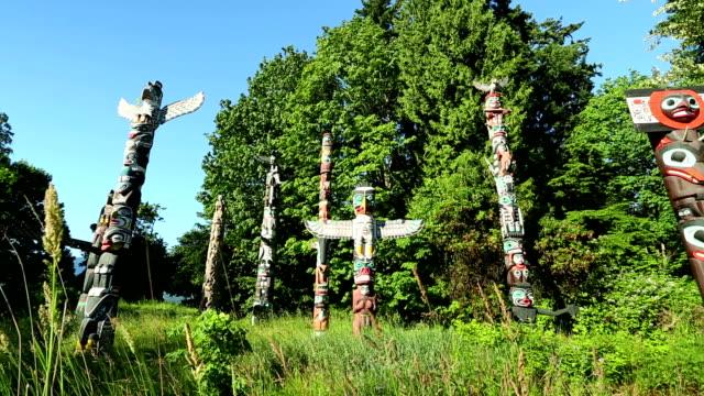 Stanley Park Vancouver Totem Poles