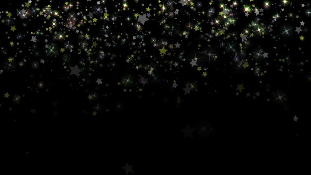 Star Confetti Background Loop video