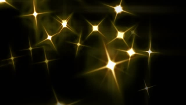 vídeos de stock e filmes b-roll de a star flash on holy night [loop] - glow