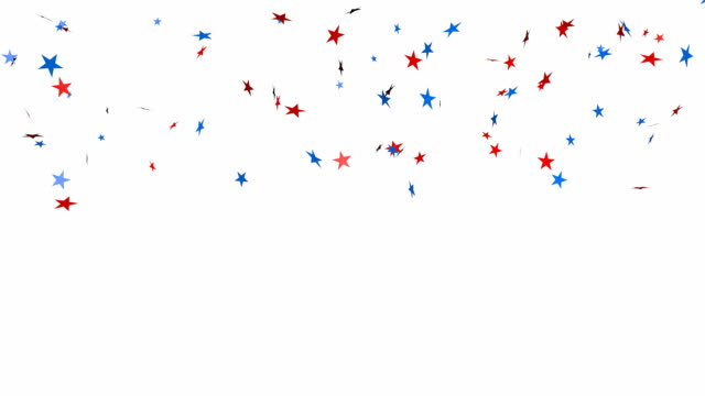 Star glitter confetti background video
