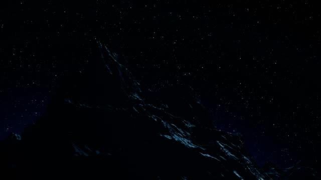 stjärnan vintergatan som rör sig över natt himlen tidsfördröjning - nightsky bildbanksvideor och videomaterial från bakom kulisserna