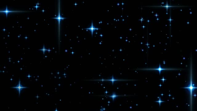 a star shining on holy night [loop] - sfondo nero video stock e b–roll