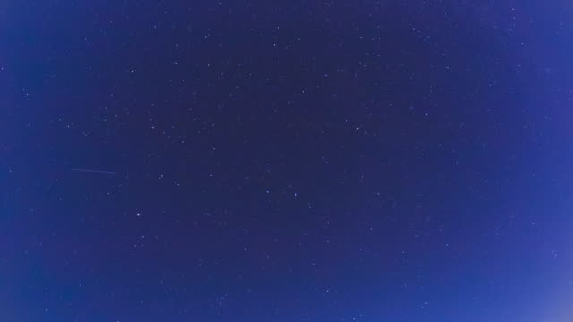 Star sky at night Time Lapse video