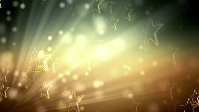 Star Soft Colorful Background (Loopable) video