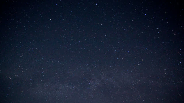 Star Time lapse video