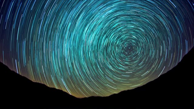 Star Trails video