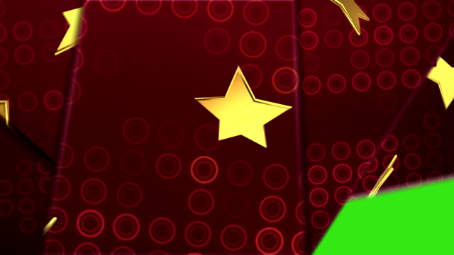 star transitions red - christmas background стоковые видео и кадры b-roll