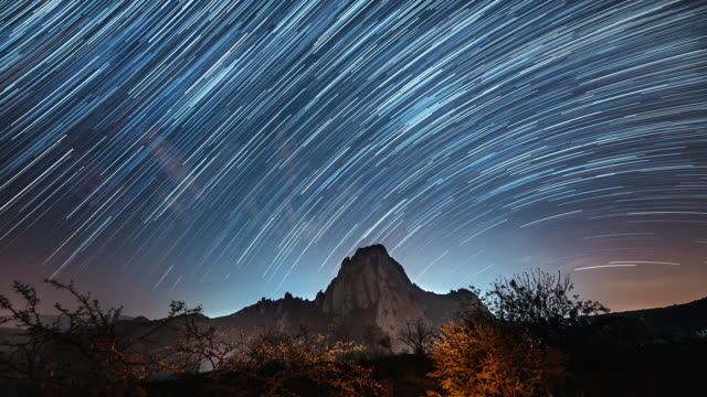 stargazing in mexico - astronomia video stock e b–roll
