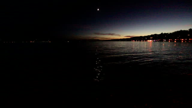Starnberg Lake at Night video