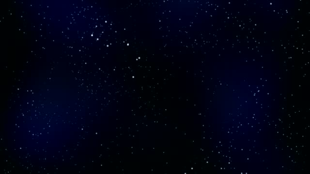 starry sky motion background, Full HD video