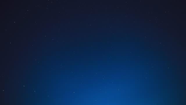 Starry sky over Norway