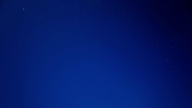 Starry sky scene in night sky 4K Time Lapse Video video