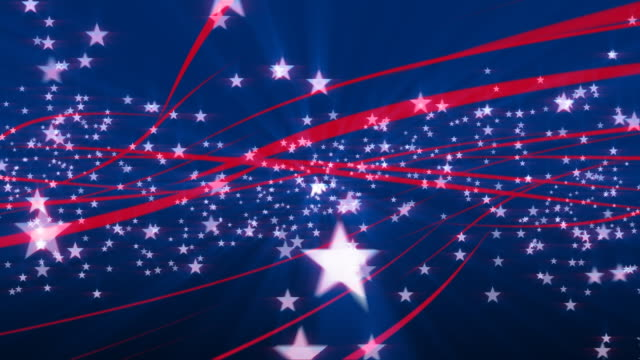Stars and Stripes USA Patriotic background loop #2 Seamlessly looping animation of Stars and Stripes. Suitable for Fourth of July (American Independence Day) theme, or other U.S.A. patriotic themes. HD and web sizes. More 4th of July and other celebration videos in my Celebration lightbox: fourth of july videos stock videos & royalty-free footage