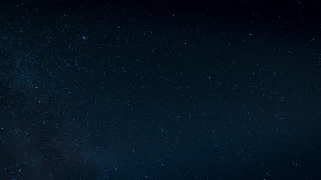 vidéos et rushes de étoiles dans la nuit, time lapse - ciel etoile