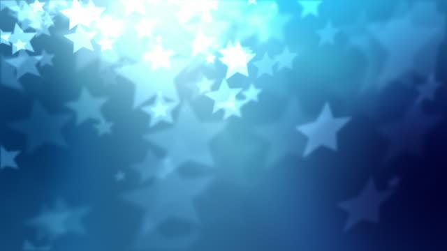 Stars Background Loop - Blue (Full HD) video