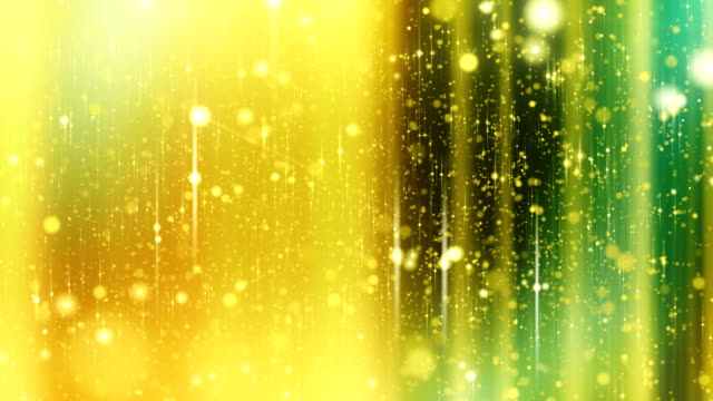 Stars background with flares, Yellow. Looped. HD. video