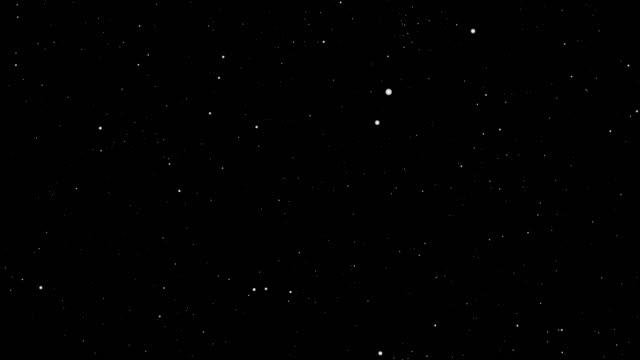 Stars background,Animation video