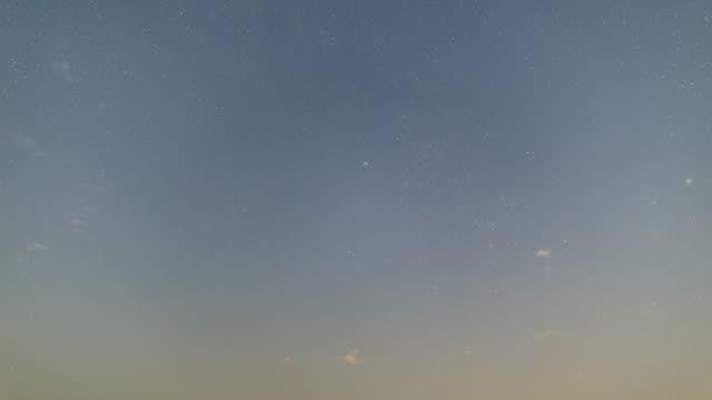 stars moving time lapse
