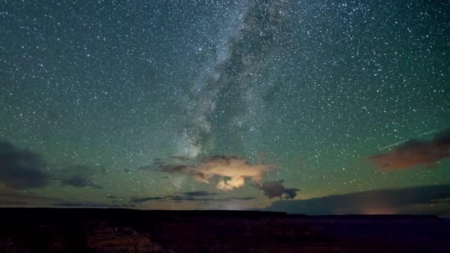 Stars Night Sky Time-Lapse Grand Canyon video