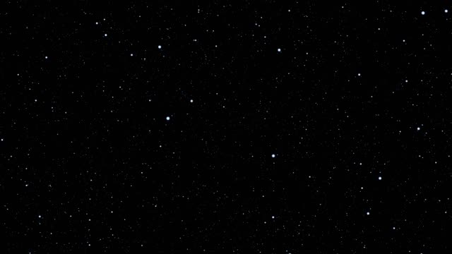 stars over black background - space video stock e b–roll