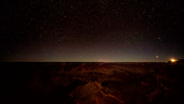 Stars over the Grand Canyon video