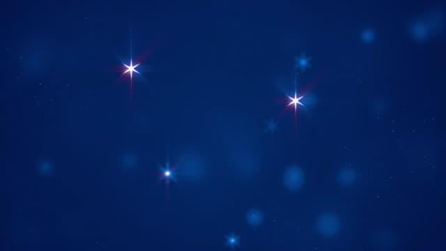 4k yıldız parçacık arka düşen yıldız ve glitter stok video - ünlüler stok videoları ve detay görüntü çekimi