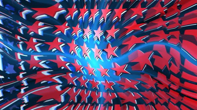 Stars Red White & Blue (Loop) video
