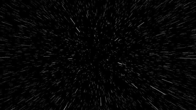 Stars, Space Warp, Seamless Loop video
