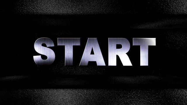 Start Text in Open / Close Door - HD1080 video