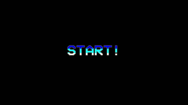 Start - Video Game Menu