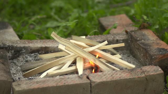 start bonfire - skog brand bildbanksvideor och videomaterial från bakom kulisserna