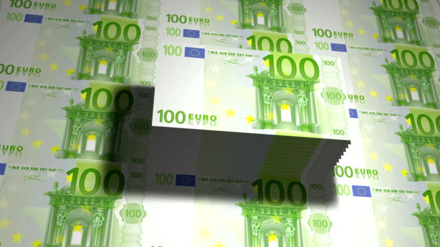 State mint print hundred euro bills video