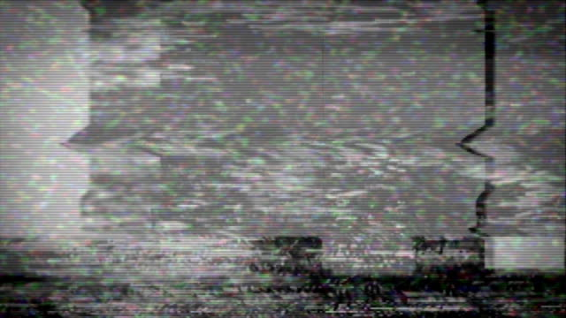 VHS Static and Interference video