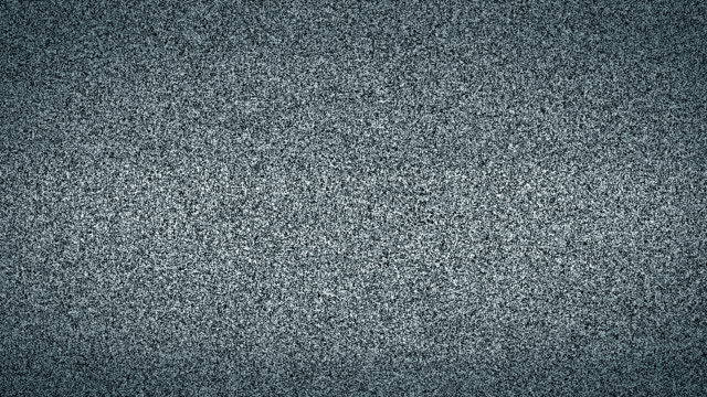 TV Static Noise (Loopable) video