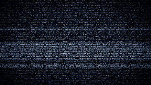 TV Static Turning On and Off with Sound video