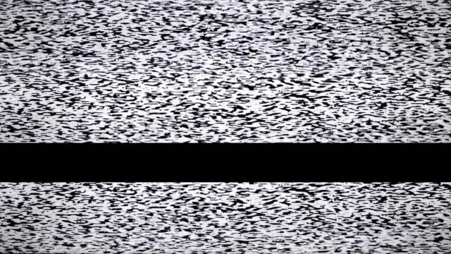 テレビ雑音 - 木目のビデオ点の映像素材/bロール