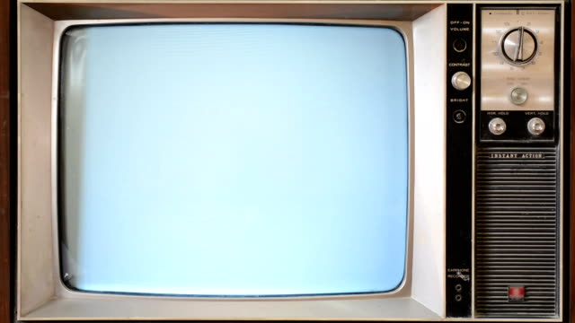 Static TV video
