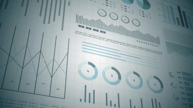 vídeos de stock e filmes b-roll de statistics, financial market data, analysis and reports, numbers and graphs. - circular economy