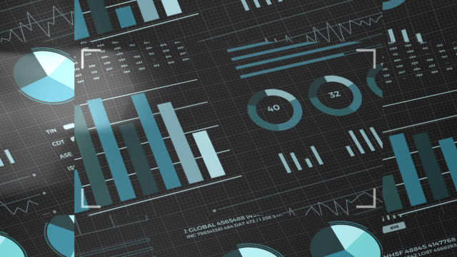 Statistics, financial market data, analysis and reports, numbers and graphs. Glitch blocks slide effects. Statistics, financial market data, analysis and reports, numbers and graphs. Loopable animated opening video 4K. Glitch blocks slide effects. free stock without watermark stock videos & royalty-free footage