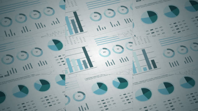 Statistics, financial market data, analysis and reports, numbers and graphs. Slide effects 3d. Statistics, financial market data, analysis and reports, numbers and graphs. Loopable animated opening video 4K. Slide effects 3d. free stock without watermark stock videos & royalty-free footage
