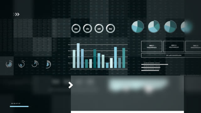 Statistics, financial market data, analysis and reports, numbers and graphs. Glitch effects. Statistics, financial market data, analysis and reports, numbers and graphs. Loopable animated opening video 4K. Glitch effects. free stock without watermark stock videos & royalty-free footage