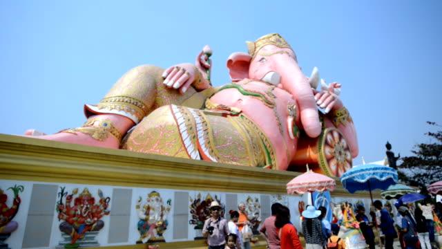 statue of ganesh - india statue bildbanksvideor och videomaterial från bakom kulisserna
