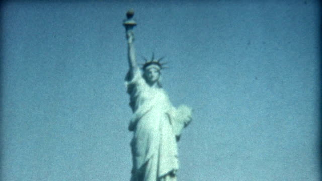 Statue of Liberty 1950's video