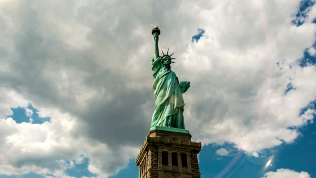 Statue of Liberty Hyperlapse Timelapse video