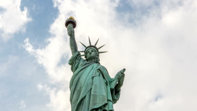 Statue of Liberty Timelapse in New York City, NYC, USA video