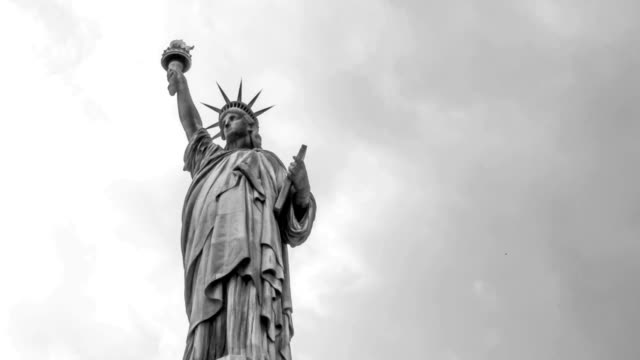 Statue of Liberty Vintage Look