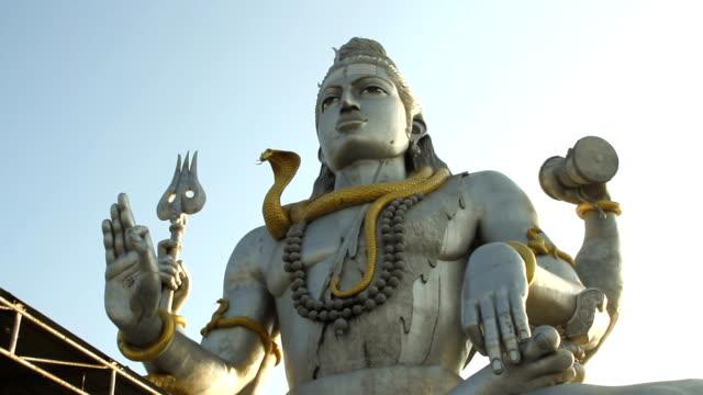 Statue of Lord Shiva in Murudeshwar Temple video