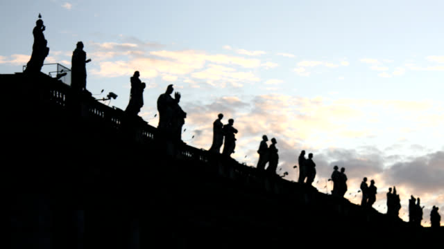 Statues of Saint Peter Basilica, Rome video
